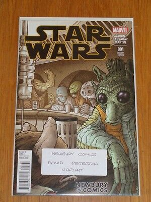 Star Wars #1 Marvel Newbury Comics David Peterson Variant Nm (9.6 Or Better)