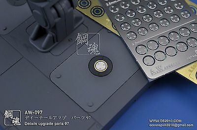 Aw-097 Gundam & Weapon Model Detail Thruster Builders Parts Photo Etch Add On