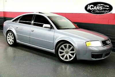 2003 Audi RS6 Base Sedan 4-Door 2003 Audi RS6 Navi Parktronic Heated Seats  Low Miles Timing Belt Just Serviced