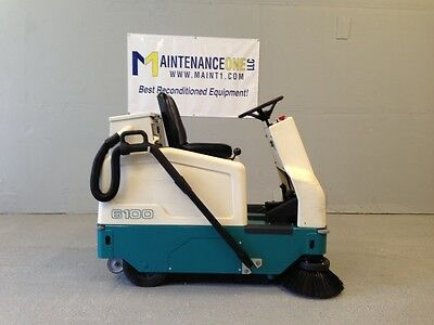 Tennant 6100 Rider Sweeper Electric  Reconditioned - FREE SHIP - FALL SALE!!
