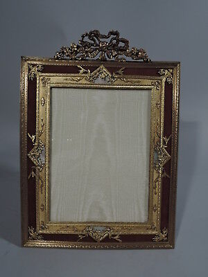 Antique Frame - Picture Photo - French Gilt Bronze & Mother of Pearl MOP