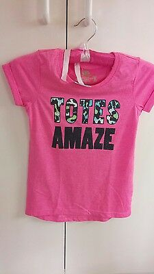 Pink. Funky girls size 8 brand new with tags