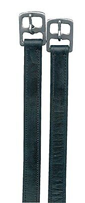 Stirrup Leathers Basic Approx. 140 cm Length black