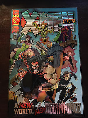 X-Men: Alpha #1 (1995) Unread, signed by Townsend, COA, Limited