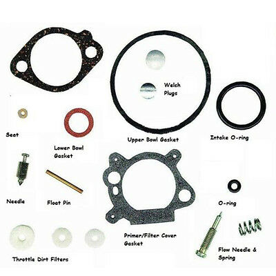 Replace Carb Parts For Briggs & Stratton 492495 493762 498260 398183 49826 3.5hp