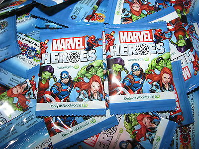 Woolworths Discs CHOOSE ANY of 42 UNOPENED Marvel SUPER HEROES 6,12,18,24,30,36