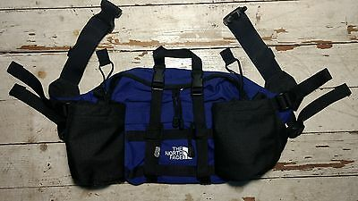 The North Face Vintage Lumbar Waist Fanny Pack 2 Bottle