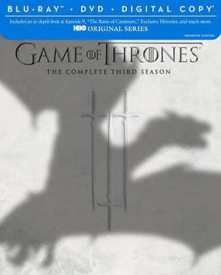 Game Of Thrones: The Complete Third Season New Blu-Ray/Dvd