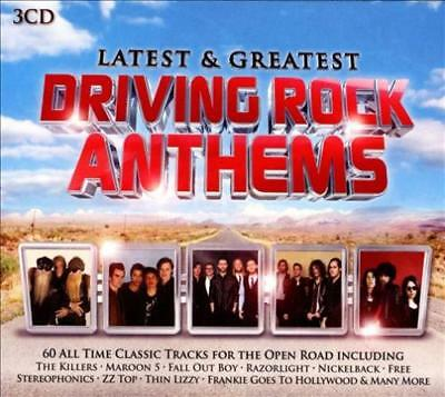 Various Artists - Latest & Greatest Driving Rock Anthems New Cd