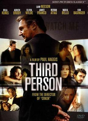 Third Person New Dvd