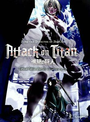 Attack On Titan: Part 2 New Blu-Ray/Dvd