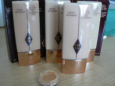 ❤❤ CHARLOTTE TILBURY Light Wonder Foundation MINI POT SAMPLE  2ml ❤❤