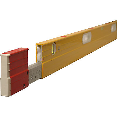 "Stabila 106TM Extending Magnetic Spirit Level 126"" / 320cm"