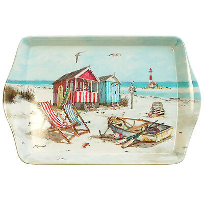 Sandy Bay Small Serving Tray Party Snack Food Server Nautical Design Melamine