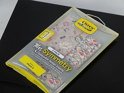 OtterBox Symmetry Series Graphic Inserts 2pk for IPhone 6 6s Fractal Diamond