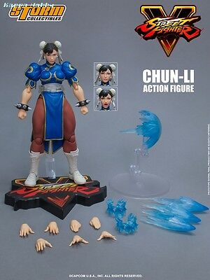 Storm Collectibles 1/12 Action Figure - Street Fighter V: Chun-Li [PRE-ORDER]