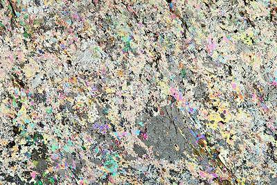 Geosec Thin section geological microscope slide Andalusite Mica Schist Sweden.