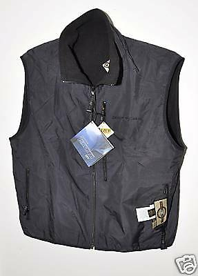 LEHMAN BROTHERS ~ SPORTSWEAR VEST With DUFFLE BAG ~ GREAT QUALITY!   ( X-LARGE )