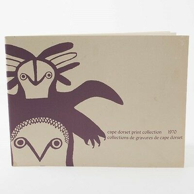 Cape Dorset Print Collection 1970 Graphic Art Catalog Book Eskimo Inuit Canadian