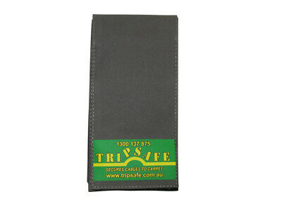 Tripsafe Cable Cover for Carpet - 1.8 M in Grey, Yellow