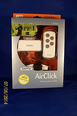 Griffin AirClick Remote Apple 4G 5G Mini Dock Video Wholesale LOT of 48