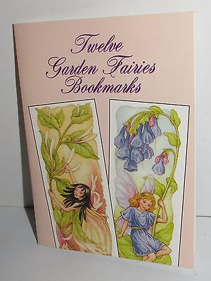 DOVER PUBLISHING TWELVE GARDEN FAIRIES BOOKMARKS by DARCY MAY