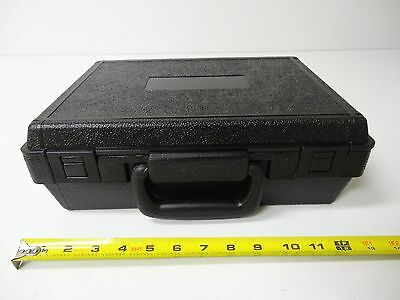 New Black Hard Plastic Tool Storage Carry Carrying Case 13.5 x 10 x 4.5 in