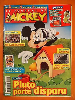 Le journal de Mickey N° 3119 du 28/03/2012. Walt Disney Presse Junior