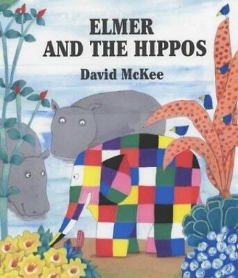 Elmer and the Hippos, McKee, David Hardback Book The Cheap Fast Free Post