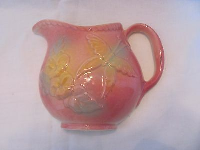 Vintage Hull Pink Sun Glow Wall Pocket USA 81