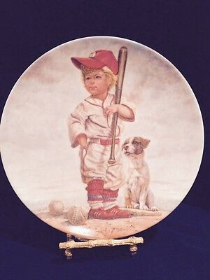 The Big Leaguer Baseball Limited Edition Signed G. Perillo Collector's Plate