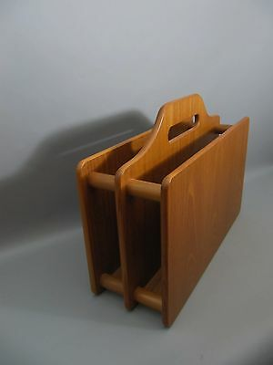 60s Teak mid Century ZEITUNGSSTÄNDER - newspaper rack  - Danish Design