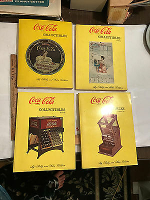 1971 Set of 4 Coca Cola Collectibles by Shelly & Helen Goldstein Great Images!