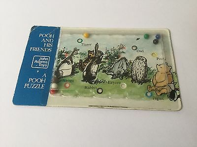 Vintage Winnie The Pooh And His Friends Puzzle Game by John Adams Toys