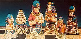 Make Your Own Chess Sets With These 9 x Supercast Egyptian Chess set latex