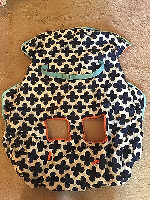 Infantino Shopping Cart Cover - High Chair Cover - Blue