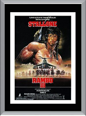 Rambo 3 Movie A1 To A4 Size Poster Prints