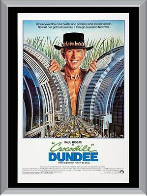 Crocodile Dundee A1 To A4 Size Poster Prints