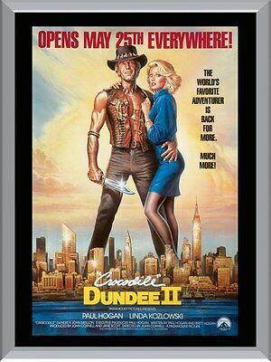 Crocodile Dundee 2 A1 To A4 Size Poster Prints