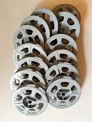 """Empty Kodak 8mm 50' 3"""" Movie Film Reel - Immaculate Condition, Made in USA"""
