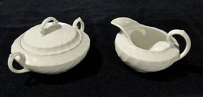 Cream and Sugar by Burleigh Ware - Made in England
