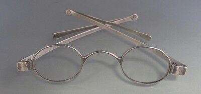 Antique George IV Silver Spectacles London 1828