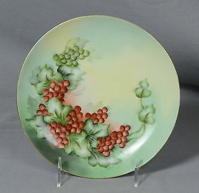 "Antique Imperial Empire PSL Handpainted Collector Plate 8"" Wide"