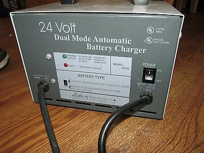 Lester Electrical 24 Volt 8 Amp Dual Mode Automatic Battery Charger 18330-83