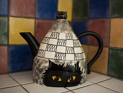 Cats by Nina - Tea Pot - Made in America