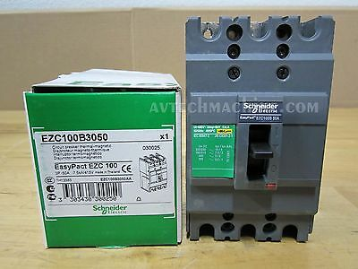 Schneider Breaker Thermal-Magnetic 50A EZC100B3050