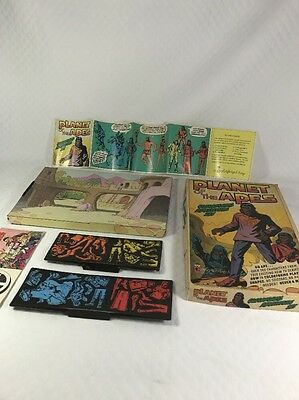 Vintage Planet of the Apes 1967 POTA  Colorforms Play Set Complete Nice Clean