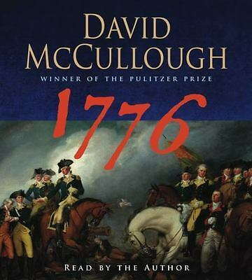 1776 by David McCullough 10 CD Audiobook - 12 Hours - New Sealed
