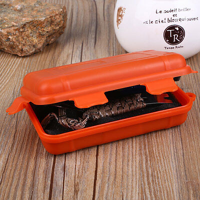 Outdoor Shockproof Waterproof Small Tools EDC Boxes Survival Holder Travel Case