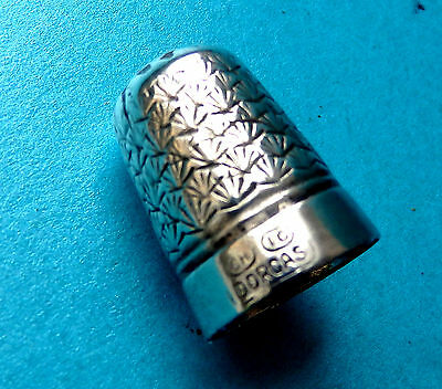 Antique Dorcas Sewing Thimble,by Charles Horner.